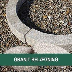 Granit Belægningssten