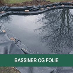 Bassiner og folie