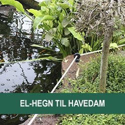 El-hegn til havebassin