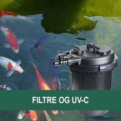 Trykfiltre og UV-C