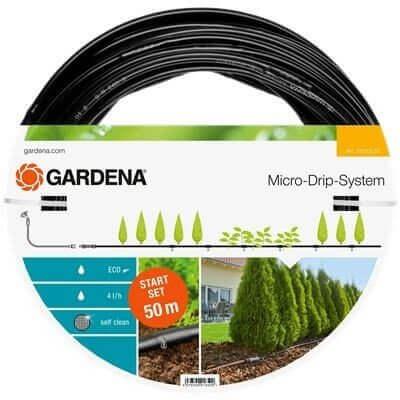 Drypvandingssystem til automatisk vanding af din have